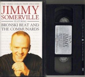 JIMMY SOMERVILLE 1984-1990 BRONSKI BEAT VHS