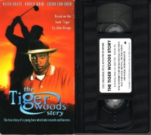 Rare!! THE TIGER WOODS STORY Keith David TRUE STORY VHS
