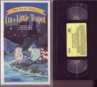 The REAL STORY OF I'M A LITTLE TEAPOT Julian Lennon VHS