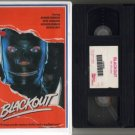 BLACKOUT Black Out RICHARD WIDMARK Quinlan VHS VIDEO