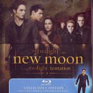 Twilight NEW MOON COLLECTOR'S ED BLU-RAY w/Tin & EDWARD FIGURINE