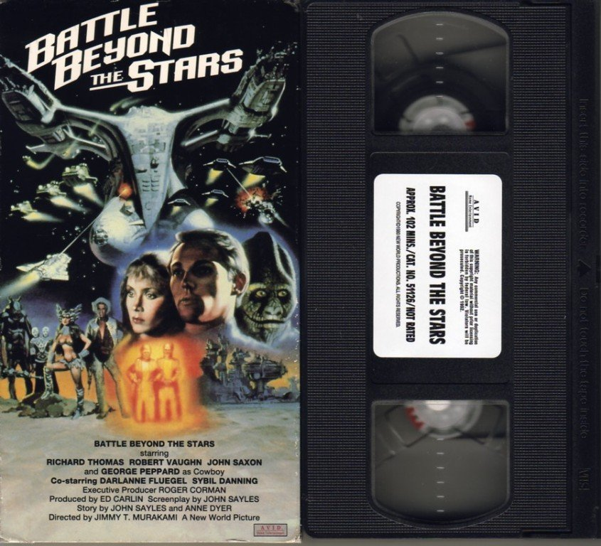 BATTLE BEYOND THE STARS Sybil Danning ROGER CORMAN vhs