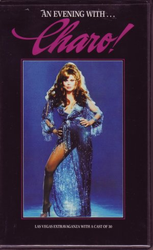 AN EVENING WITH CHARO! Las Vegas Show CHARO Rare!!! VHS