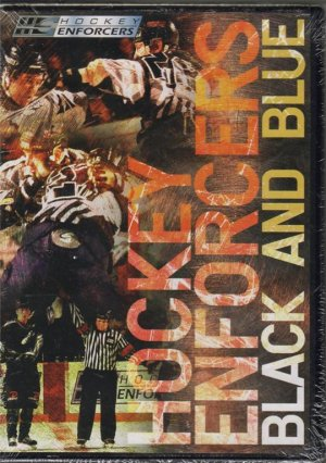 Rare & New! HOCKEY ENFORCERS Black and Blue DVD R1