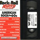 ROCK N ROLL HISTORY VIDEO Rock & Roll AMERICAN ROCK THE 60's SIXTIES Rare!! VHS