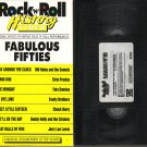 ROCK N ROLL HISTORY VIDEO Rock & Roll FABULOUS FIFTIES 50's Rare!! VHS