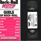ROCK N ROLL HISTORY VIDEO Rare GIRLS OF ROCK & ROLL Ronettes CRYSTALS Supremes +