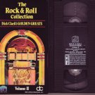 THE ROCK & ROLL COLLECTION Dick Clark GOLDEN GREATS VOL. 2 II RARE OOP VHS