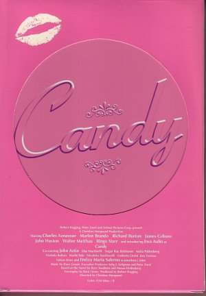 Candy DVD R1 RARE!! Limited Edition Tin #15387 of 16,000 Anchor Bay MINT!! OOP