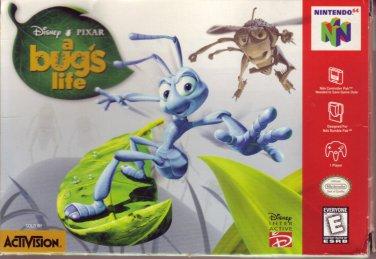 A BUG'S LIFE Nintendo 64 N64 COMPLETE!  BOX/MANUAL/GAME