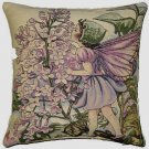 Tapestry Panel LILAC FAIRY Cicely Mary Barker 14x14
