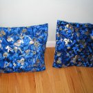 Pillow cover set of two and table runner Velvet Golden