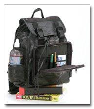 Maxam Brand Italian Stone Design Genuine Leather Backpack