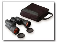 Magnacraft 10x50 Binoculars with Ruby Red Coated Lens for Glare Reduction