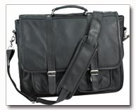Embassy Genuine Leather Attache Case
