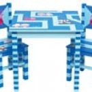 Hand Painted Childrens 3pc Table and Chair Set