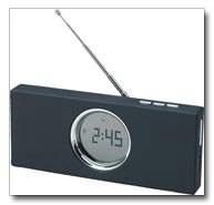 Mitaki Japan Black Digital Desk Clock