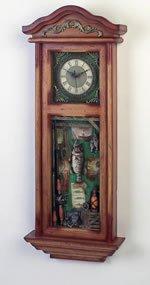 Club Fun Decoractive Wall Clock. Measures 12-3/4