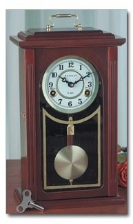 Kassel 31 Day Wood Table Clock