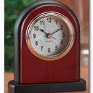 Kassel Wood Quartz Alarm Clock