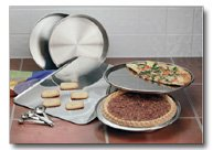 9pc Stainless Steel Bakeware Set