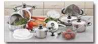 Chef's Secret 22pc Super Set with T304 Stainless Steel
