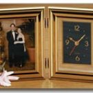 Brookwood Folding Clock And Picture Frame