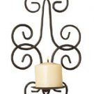 Savannah Wrought Iron Wall Sconce