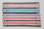 Club Fun 10pc Set Of Assorted Pet Collars