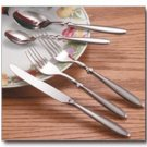 Nikita Bistro 20pc Stainless Steel Flatware Set