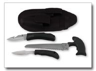Maxam 3pc Game Knife Set