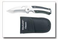 Maxam Stainless Steel Liner Lock Knife