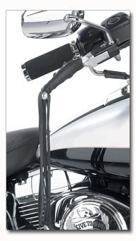 Diamond Plate Genuine Leather Black Motorcycle Lever Covers