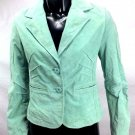 Wilson's Leather Women's Suede Mint Green Jacket Blazer Size XS