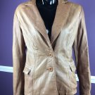 MAURIZIO TROIANO Jacket Large soft brown leather blazer women