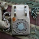 1979 NE 500 Series Telephone Tan Works Rings Lights-Up