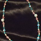 Necklace # 3- Polymer Clay Beads handmade by Treasure Vallie