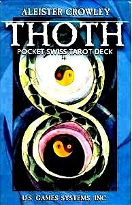 Aleister Crowley Swiss Thoth Tarot Card Deck HQ Rare Sealed New!