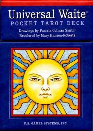 Universal Waite Tarot Cards Rare Pocket Version Deck Sealed New!