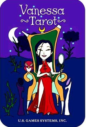 Vanessa Tarot Card Deck w/ Humor Glamour Collector Tin!