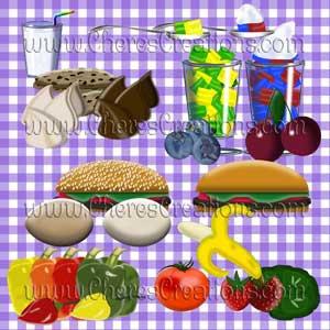 Food Digital Clip Art