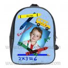Personalized Back to School Blue Backpack Small