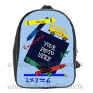 Personalized Back to School Blue Backpack Large
