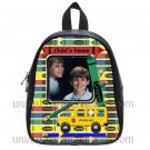 Personalized Crayon Bus Pencil Backpack Small
