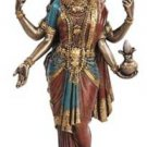 Lakshmi Hindu Statue Goddess of Prosperity Wealth   Figurine Altar Goddess