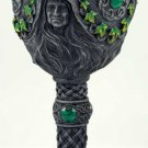 Triple Goddess Chalice Maiden, Mother and Crone Chalice Goddess Wiccan Pagan
