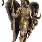 "Saint Raphael Bronze Statue Guardian Angel Archangels Kabbalah St. Raphael 12"""