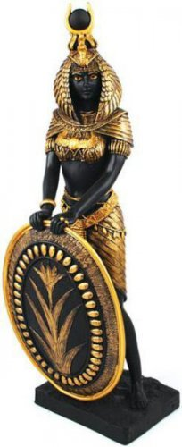 "ISIS GODDESS STATUE 13"" Egyptian Goddess with Shield"