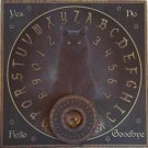 BLACK CAT Ouija Cat Spirit board  Black Kitty Witches Familiar Divination