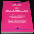 Lawsuit and Asset Protection assets law insulate from Judgement Liabilities IRS litigation sued book